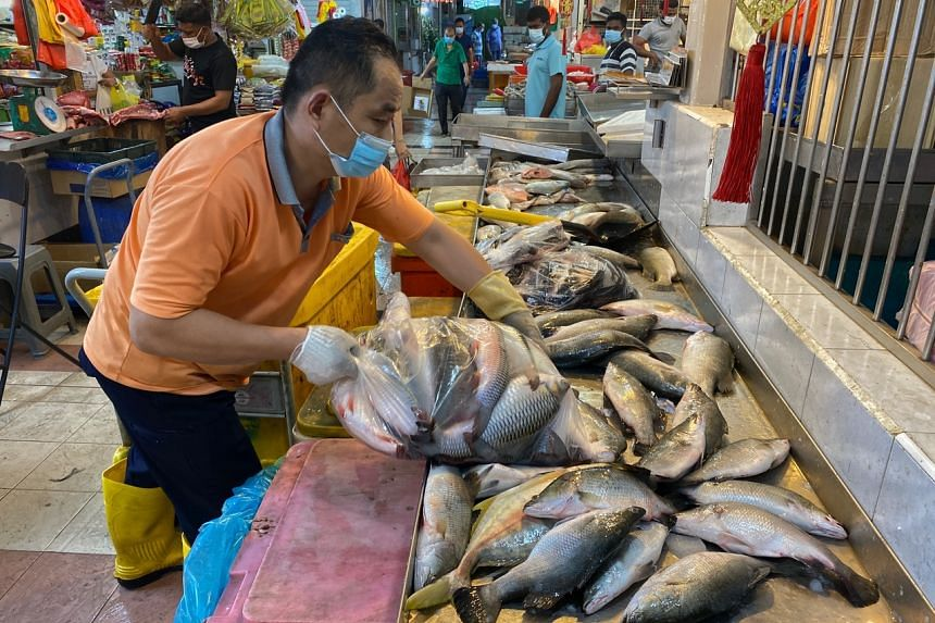 Consumers snapped up seafood amid growing concern over an impending shortage.