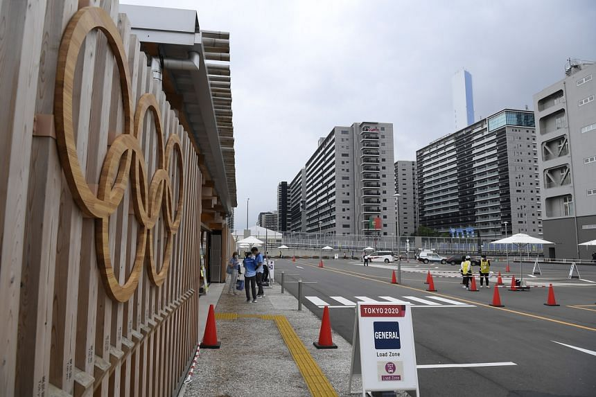 The person has been removed from the Village where athletes and officials will reside during the Games.