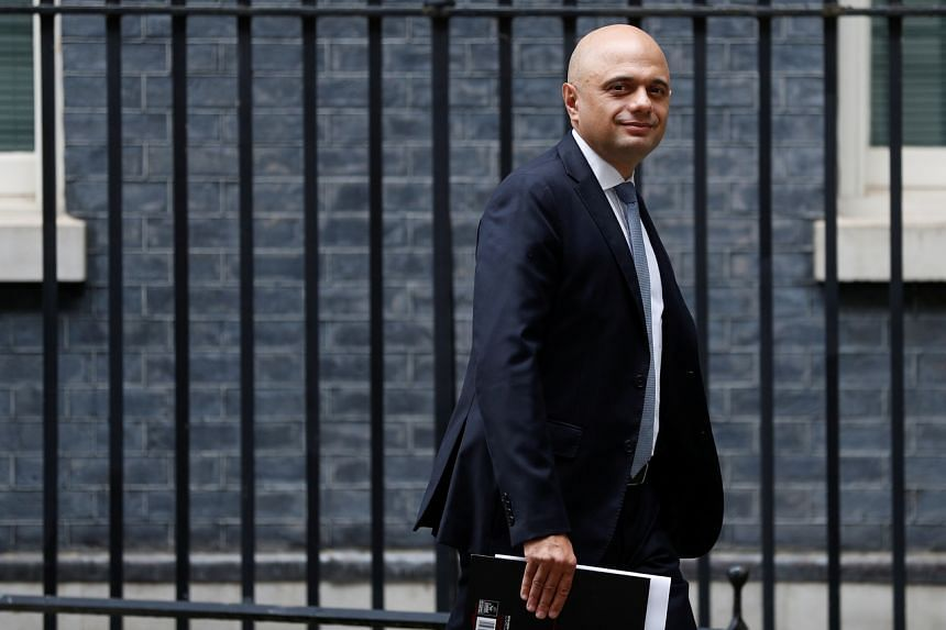 """Mr Sajid Javid is self-isolating at home with his family and said his symptoms were """"very mild."""""""