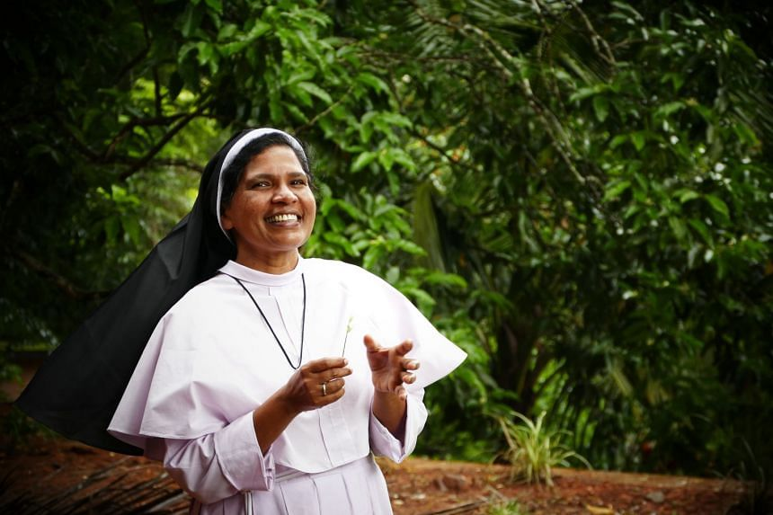 Sister Lucy Kalapura (above), who has spoken out against a bishop accused of rape, says the reasons for her dismissal from the convent are a smokescreen.