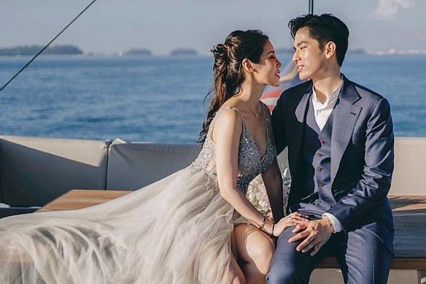 Influencer Yan Kay Kay, 39, married Mr Brandon Loh, 28, in 2019.