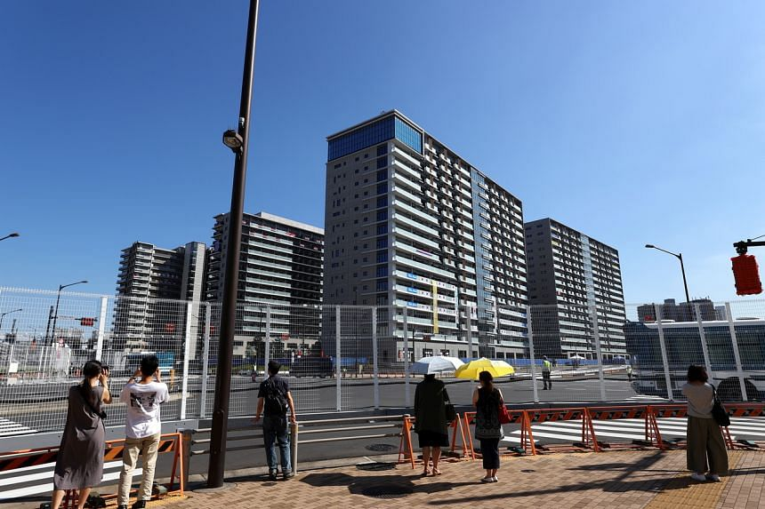 The Olympic Village is a complex of apartments and dining areas that will house 6,700 athletes and officials.