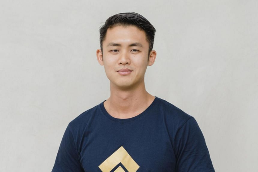 Mr Shaun Djie, 30, chief operating officer of asset tokenisation company Digix.