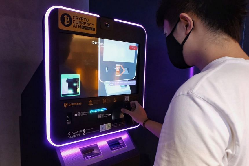 There are about 10 bitcoin ATMs in Singapore, six of which belong to blockchain technology company Daenerys & Co.