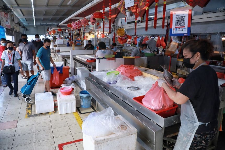 Affected fish and seafood stallholders can also go to specified regional screening centres for testing.