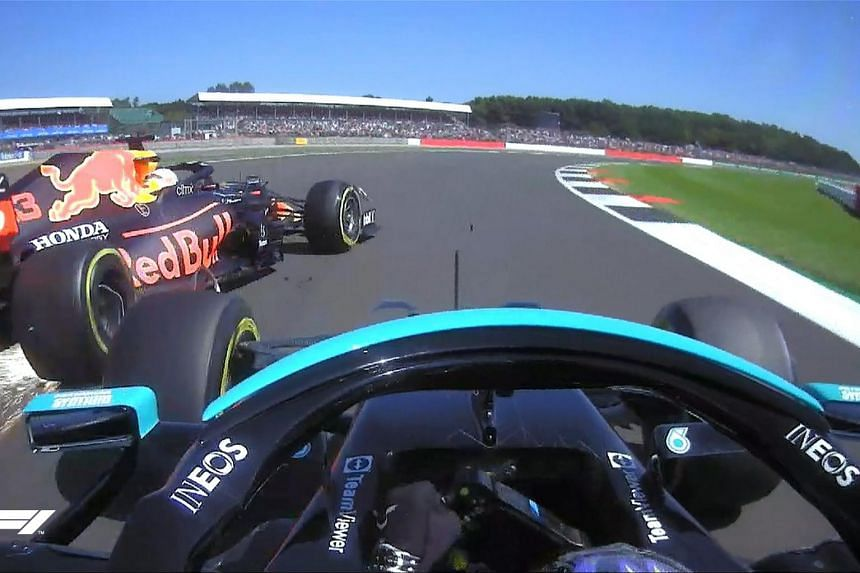 Stewards decided Hamilton had caused the collision and handed him a 10 second penalty for his home race.