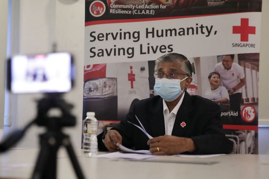 """Singapore Red Cross chief executive Benjamin William said last year was an """"exceptional year"""", with the organisation receiving $12.3 million – nearly double the $6.2 million it collected in 2019."""