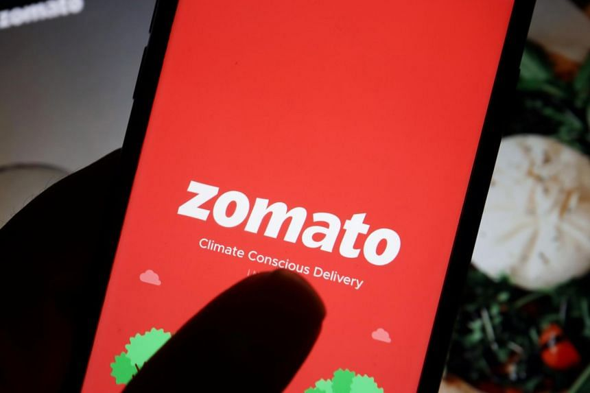 Food-delivery app Zomato Ltd. became the nation's first unicorn to make its stock-market debut.