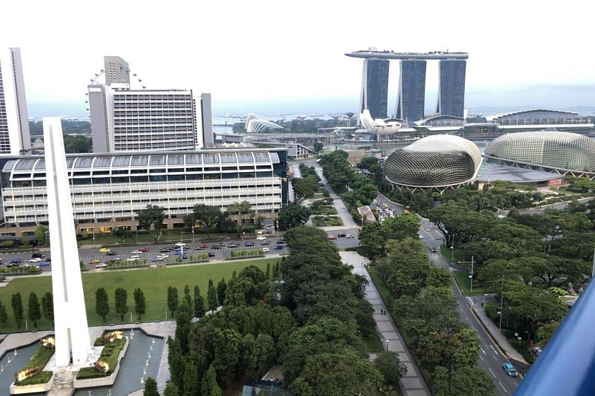 The writer served a 21-day stay-home notice at the Swissotel The Stamford, with a spectacular view of the city.