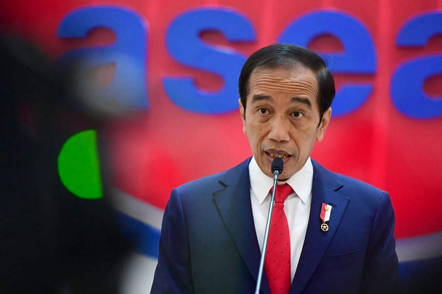 An opinion poll showed that trust in President Joko Widodo's handling of the pandemic fell to 43 per cent.