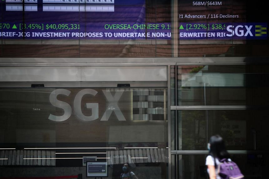 The Straits Times Index generated an 11.9 per cent total return in the six months to Jun 30.