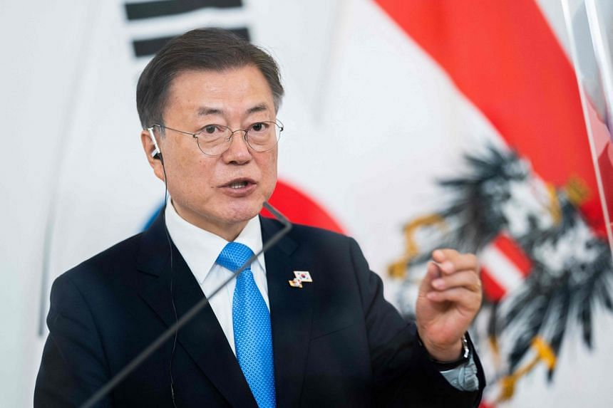South Korean President Moon Jae-in will not visit Japan for the Tokyo Olympics.