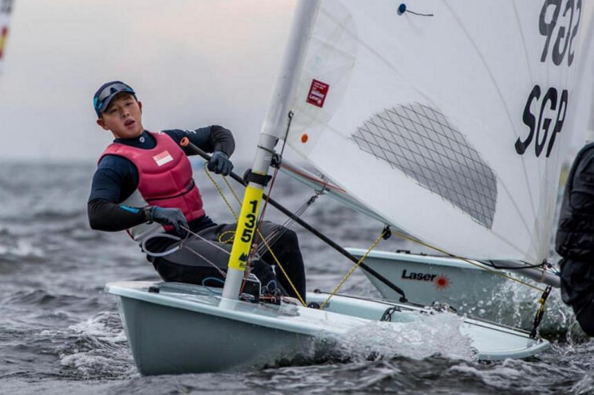 Ryan Lo is the highest-rated Asian Laser sailor on World Sailing's rankings and already has one eye on Paris 2024.