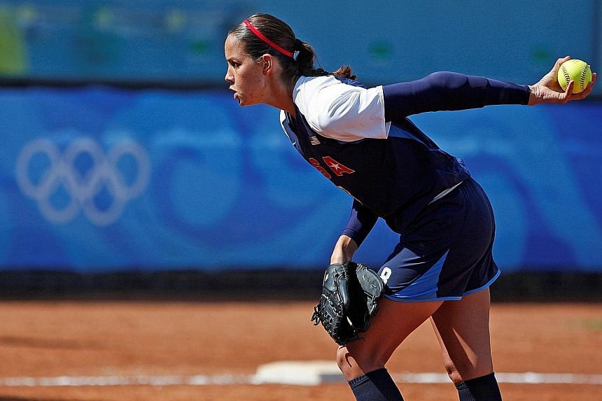 United States softball pitcher Cat Osterman has come out of retirement to compete at the Tokyo Olympics. The 38-year-old won a gold at the 2004 Athens Games.