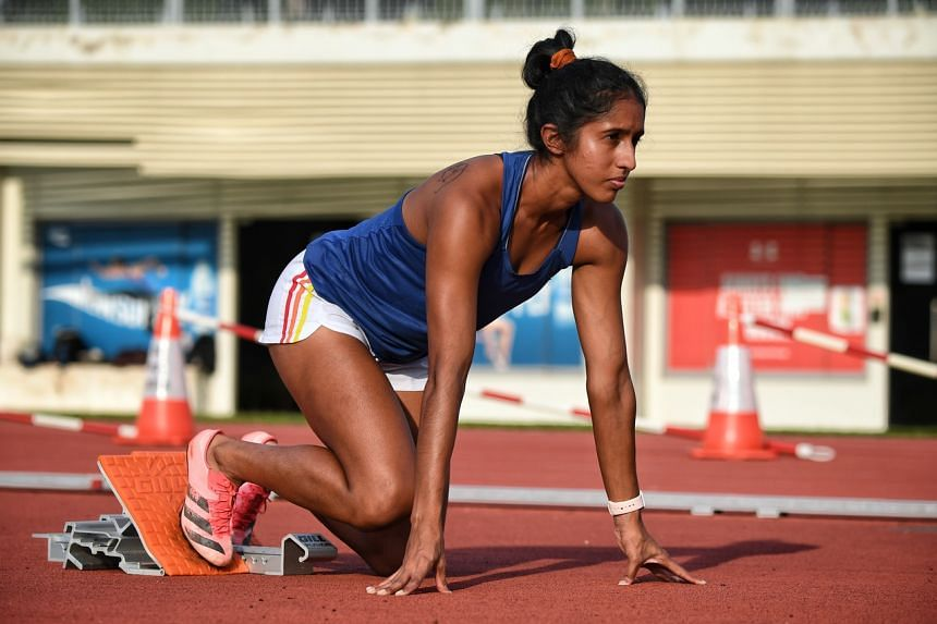 Shanti Pereira will represent Singapore at the Tokyo Games on a universality place, previously known as a wild card.