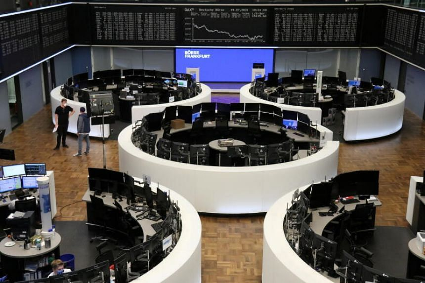 European shares were on track for their biggest slide of 2021, following an equity rout in Asia.