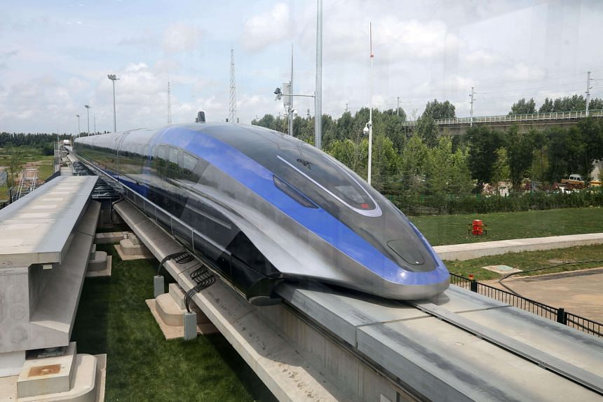 The maximum speed would make the train the fastest ground vehicle globally.