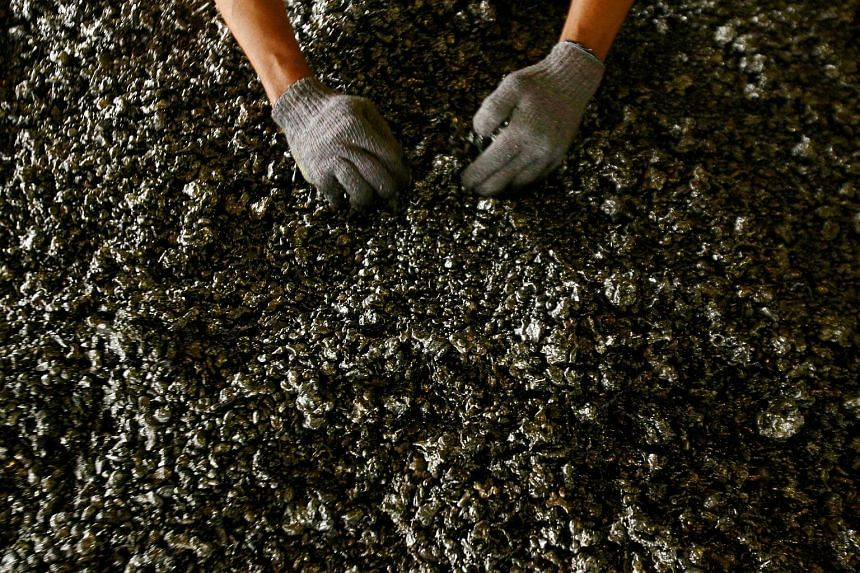 NON-EXISTENT NICKEL DEALS A file photo of nickel ore. To convince investors that trading is done, nickel was allegedly bought for a video shoot, then sold back afterwards.
