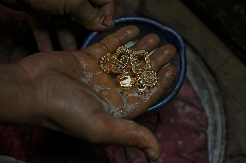 In India, gold ornaments are considered an investment to tide families over tough financial times.