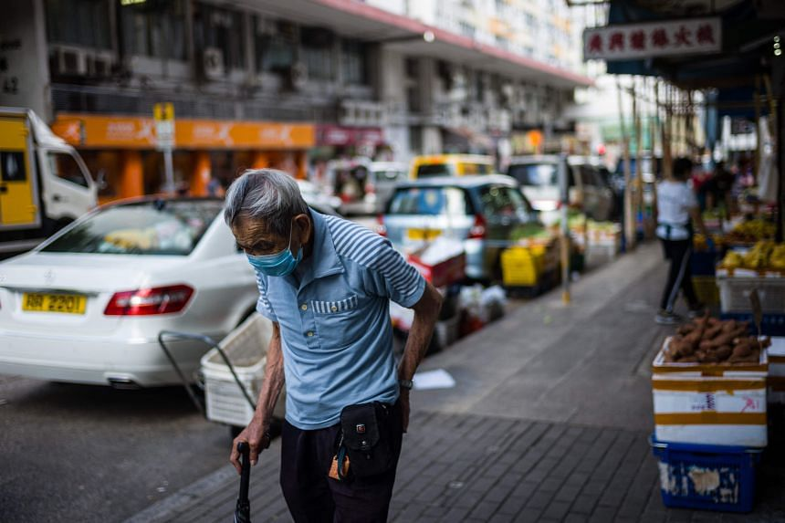 Of the 2.9 million people in Hong Kong who have had their first shot of the Covid-19 vaccine, only 5.4 per cent are 70 and above.