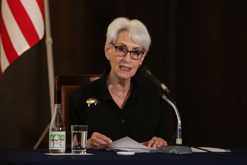 US Deputy Secretary of State Wendy Sherman visit will come at the end of visits to Japan, South Korea and Mongolia.