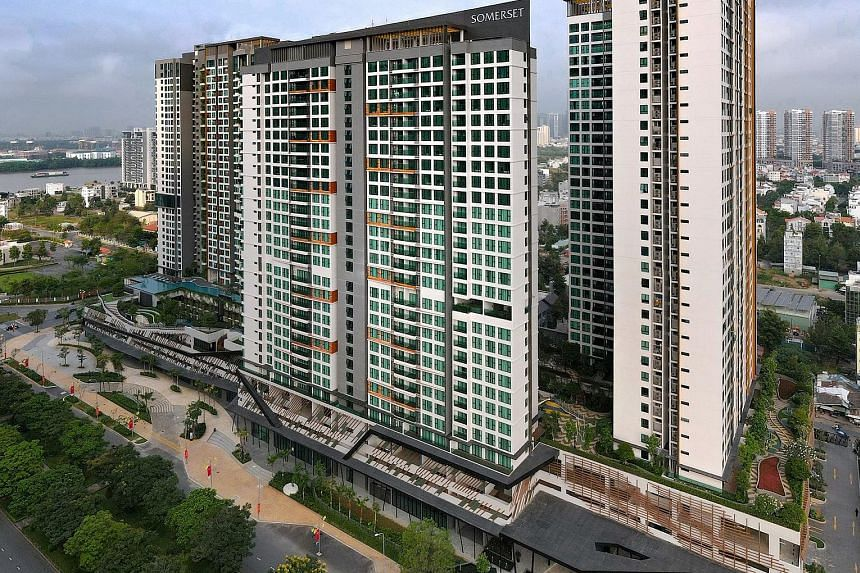 The Ascott's Somerset Feliz serviced apartments in Ho Chi Minh City. Ascott's unit growth up to this month was boosted by record signings in Vietnam, with a total of 2,800 new units signed, exceeding its full-year signings in the country in previous