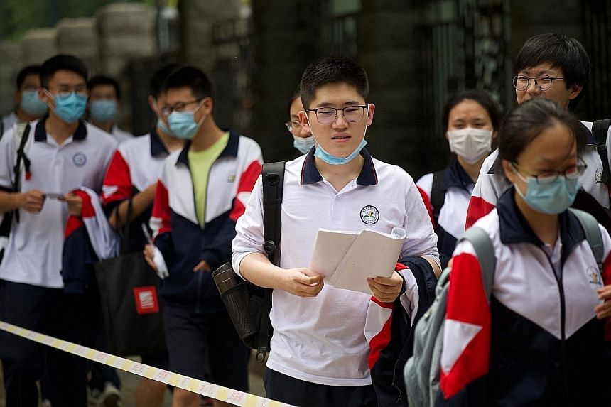 The Chinese government said the after-school tutoring sector would be strictly regulated to reduce costs for parents.