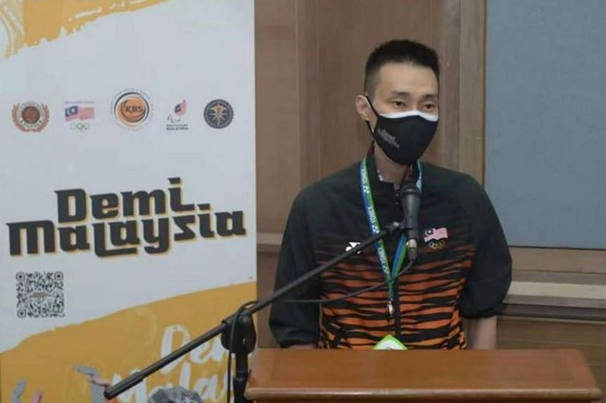 Lee Chong Wei said he is now in good health but decided against travelling to Tokyo due to concerns over the pandemic.