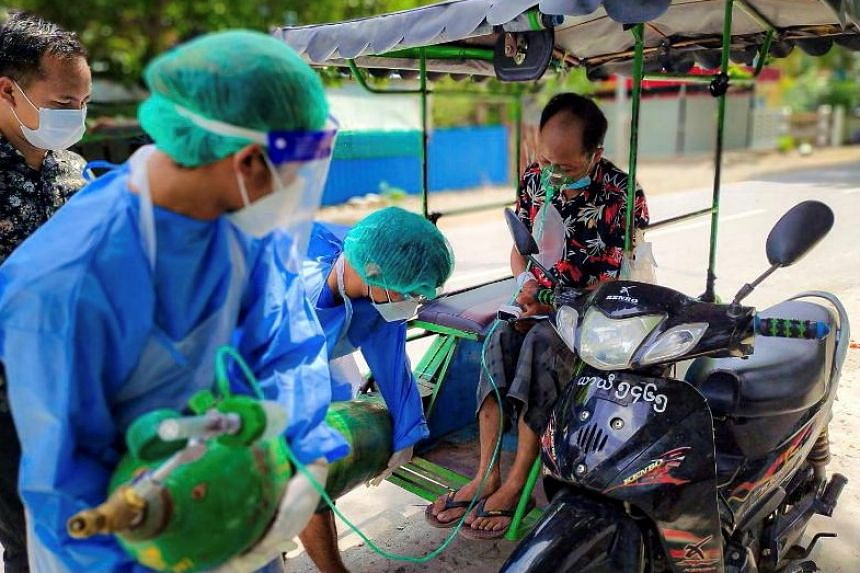 Myanmar registered on Thursday (July 22) over 6,000 new Covid-19 infections.