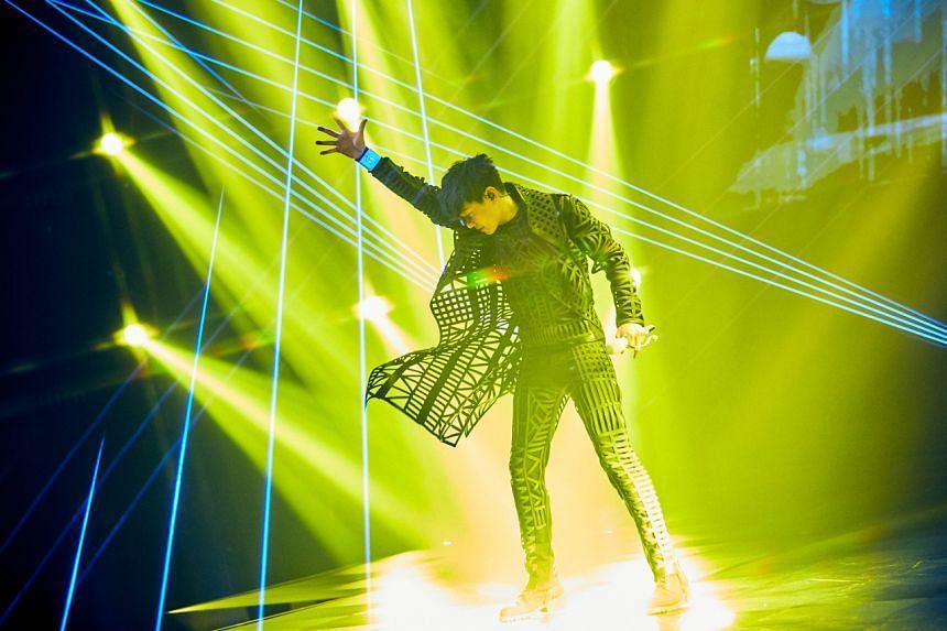 Singaporean Mandopop superstar JJ Lin.