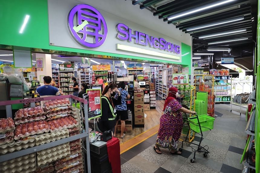 Sheng Siong Group shares rose 0.6 per cent, or one cent, on July 21 to close at $1.60 before the announcement.