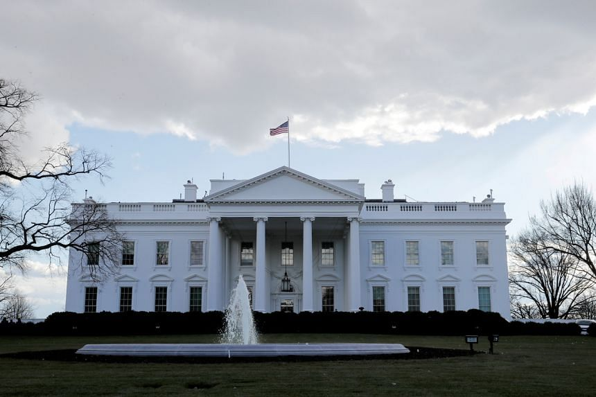 A view of the White House in Washington, on Jan 18, 2021.