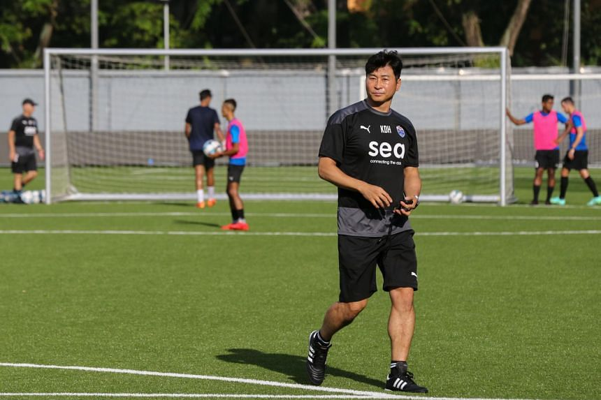 Lion City Sailors coach Kim Do-hoon was appointed on a two-and-a-half year contract in May.