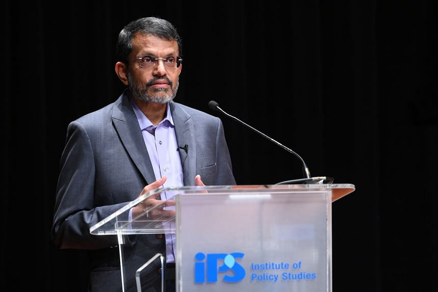 MAS chief Ravi Menon said there may be a need for a property gains tax or an inheritance tax to address wealth inequality.