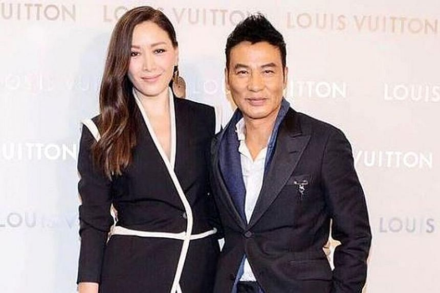 Ella Yam (above), who juggles school with modelling, inherits her grace and charisma from her show business parents, Shanghai-born supermodel Qi Qi and veteran Hong Kong actor Simon Yam (both left).