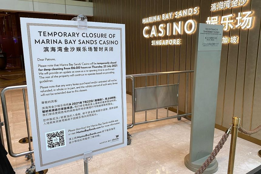 Investigations have found that there is likely ongoing transmission at the casino in Marina Bay Sands. Special testing operations will be conducted for all casino staff, and free Covid-19 testing will be extended to members of the public who visited