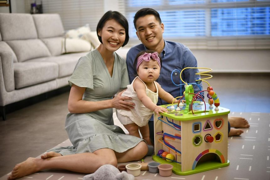 For public relations manager Amanda Moey and lawyer Joel Tan, the pandemic did not derail their desire to have more children.