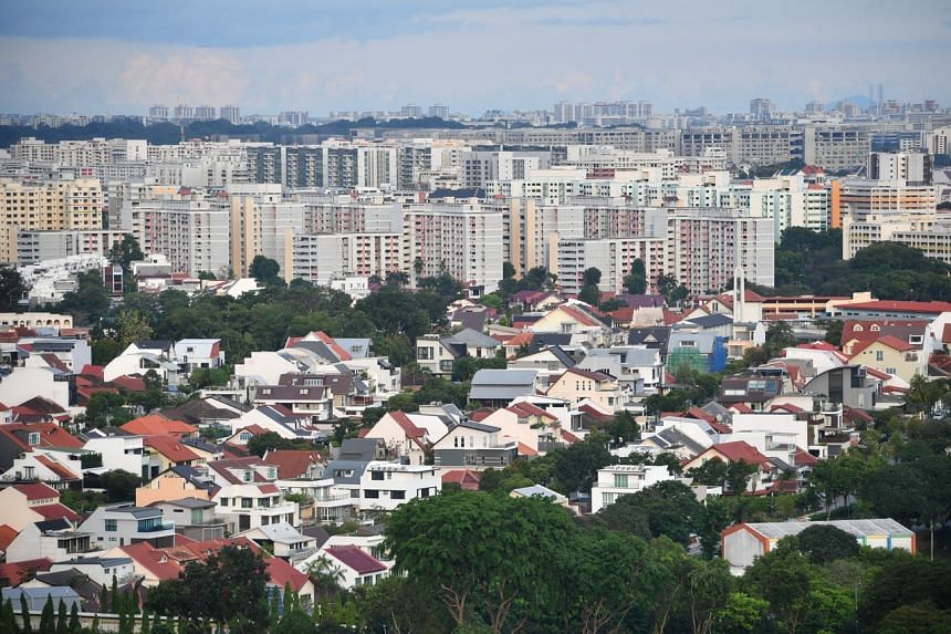 Year on year, private home prices in Singapore are up by 7.1 per cent.