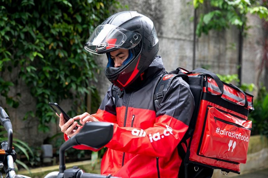 AirAsia's food delivery platform was launched in Singapore in March with about 80 restaurants.