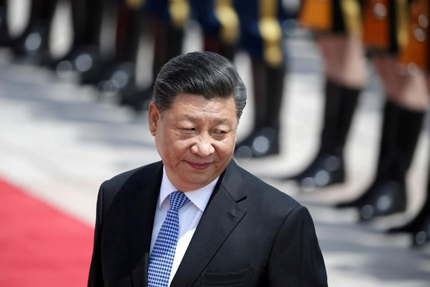 China's President Xi Jinping arrived in the regional capital Lhasa on July 22, 2021.