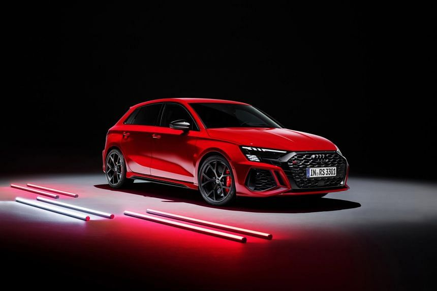 The new Audi RS3 will peak at 288kmh if equipped with an optional dynamic pack.