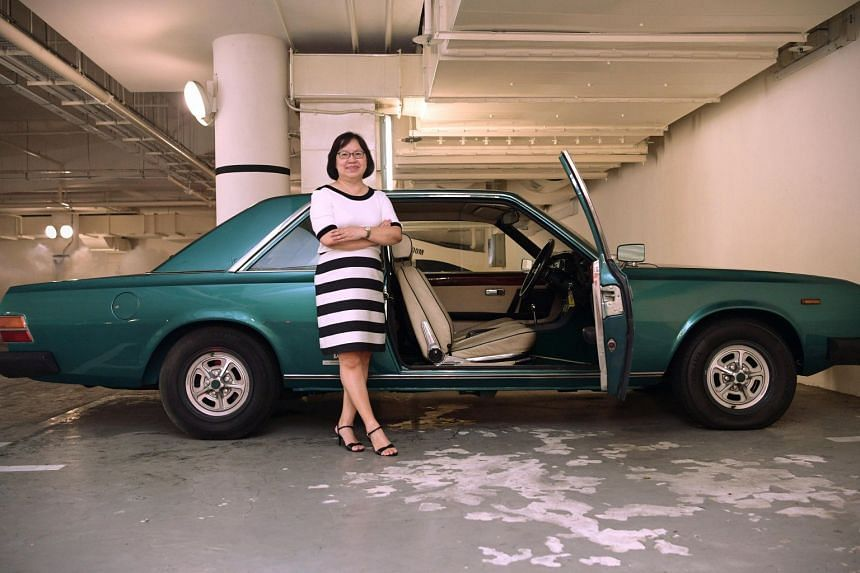 With its relatively powerful 3.2-litre V6 engine, Grace Ng says the 1975 Fiat 130 Coupe was a joy to drive.