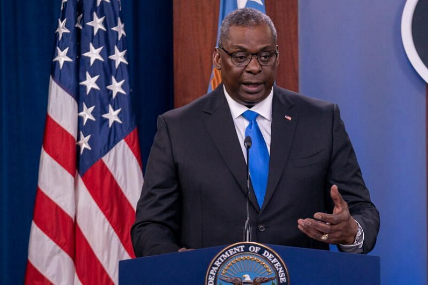The writer says that US Defense Secretary Lloyd Austin is likely to discuss US plans to beef up military deterrence when he lands in Singapore.