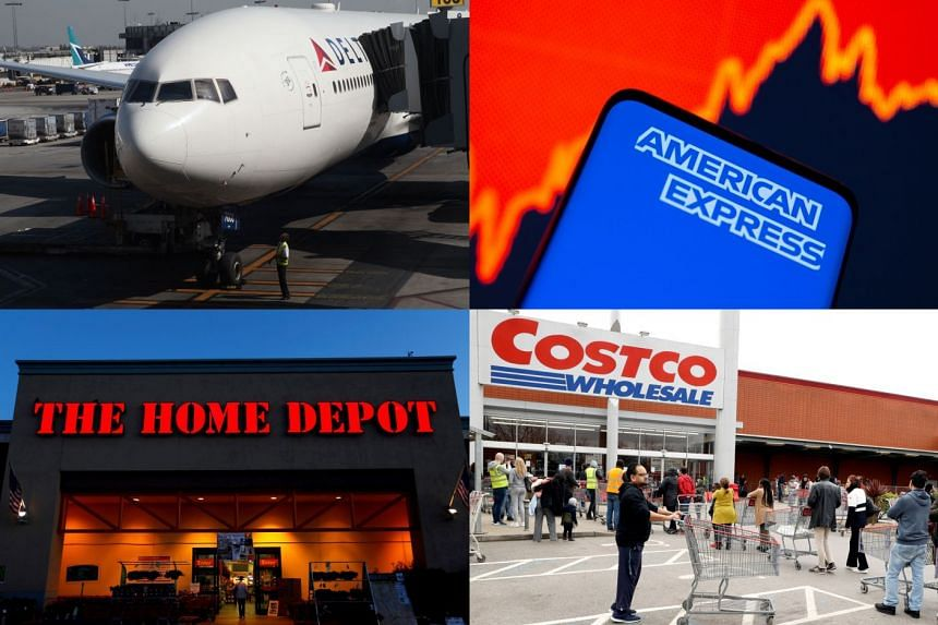Websites of Delta Air Lines, American Express, Home Depot and Costco Wholesale were down, displaying DNS service errors.