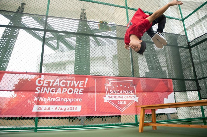 The GetActive! Singapore campaign is into its sixth year.