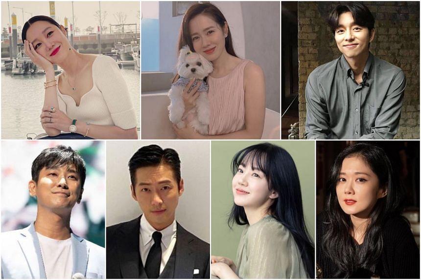 (Clockwise, from top left) Gong Hyo-jin, Son Ye-jin, Gong Yoo, Jang Na-ra, Im Soo-jung, Namgoong Min, Ju Ji-hoon.