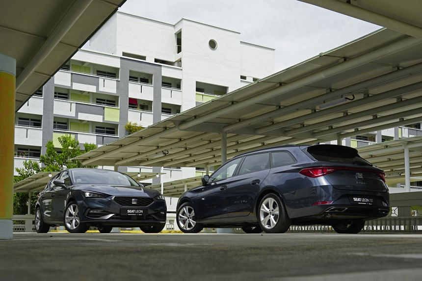 For the local market, the Seat Leon comes in two iterations - a five-door hatchback and a compact station wagon called Leon ST (Sportstourer).