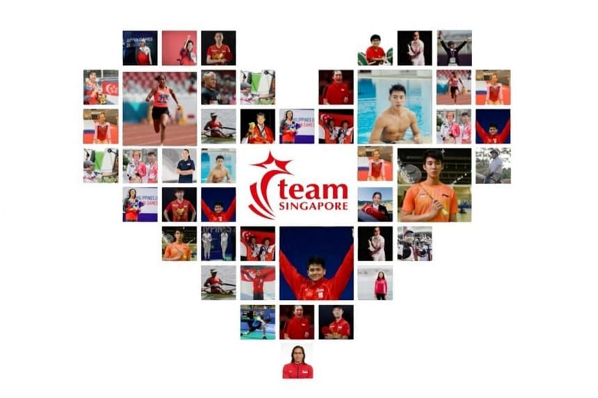Team Singapore's contingent of 23 athletes will compete in a record 12 sports.