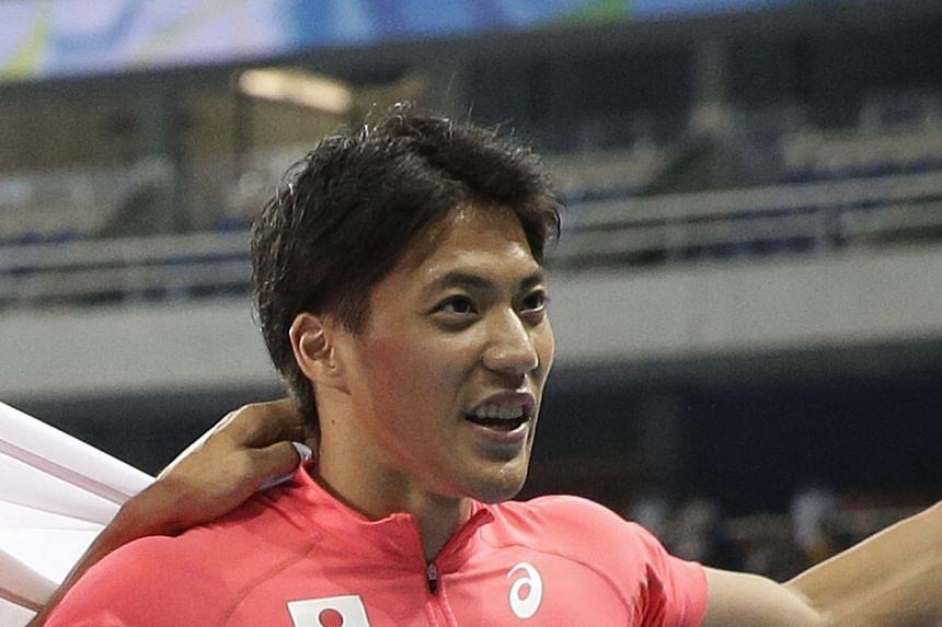 From left: Japanese star athletes Kento Momota, Rikako Ikee, Naomi Osaka, Hideki Matsuyama and Ryota Yamagata are the Tokyo 2020 Games.