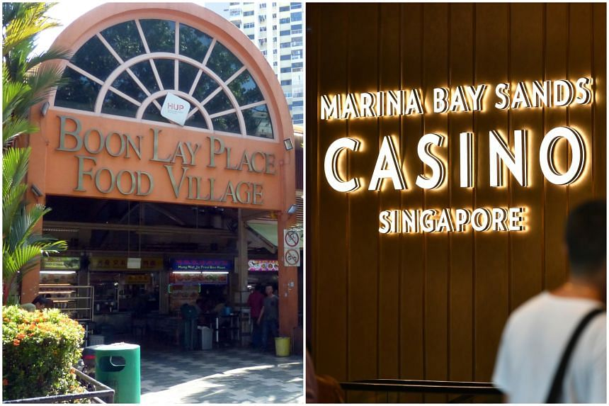 Boon Lay Place Food Village and Marina Bay Sands Casino will be closed until Aug 6 and Aug 5 respectively.